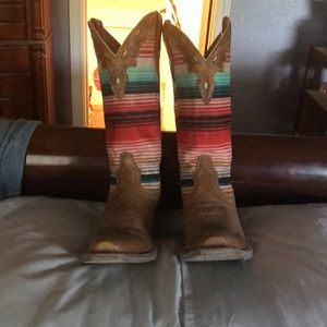 Brand new Serape Boots by Ariat